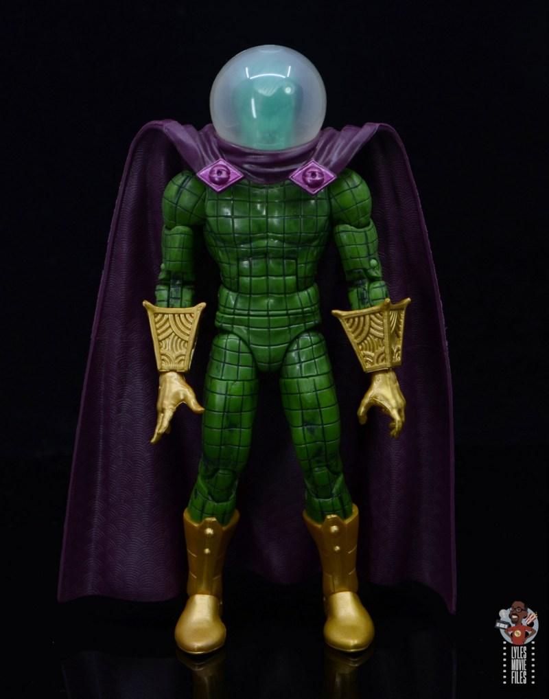 marvel legends retro mysterio figure review - with original mysterio cape