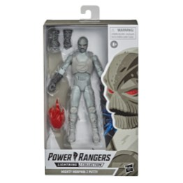 power rangers lighting collection z putty figure - front package