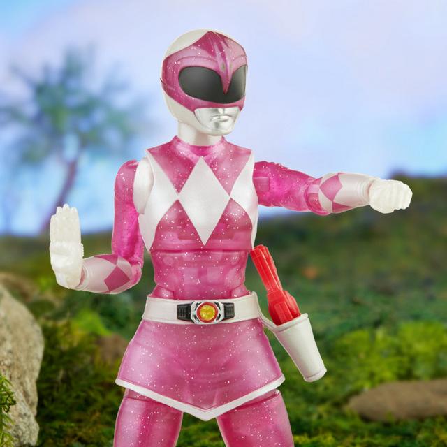 power rangers lightning collection Metallic Pink Ranger 0013