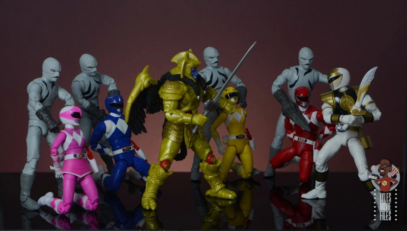 power rangers lightning collection putty patrols figure review - captured power rangers