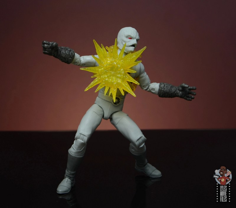 power rangers lightning collection putty patrols figure review - explosion closeup