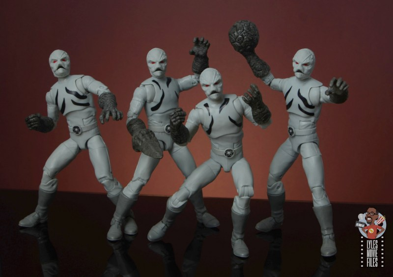 power rangers lightning collection putty patrols figure review - putty squad