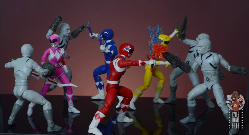 power rangers lightning collection putty patrols figure review - vs power rangers