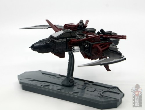 snap ships klaw light fighter review - left side