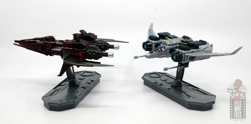 snap ships sabre x-23 fast recon review -face off with klaw attack striker