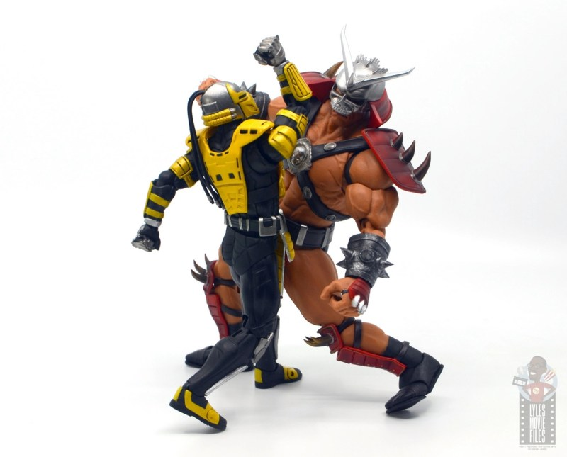 storm collectibles mortal kombat cyrax figure review - upper cut to shao khan