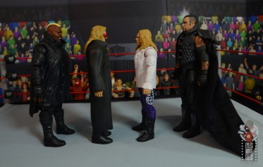wwe elite brood christian figure review - facing viscera, edge and the undertaker