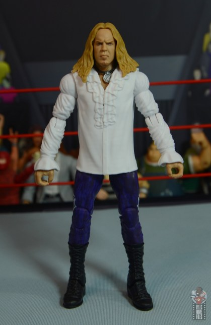wwe elite brood christian figure review - front