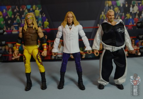 wwe elite brood christian figure review - with e and c and tna christian