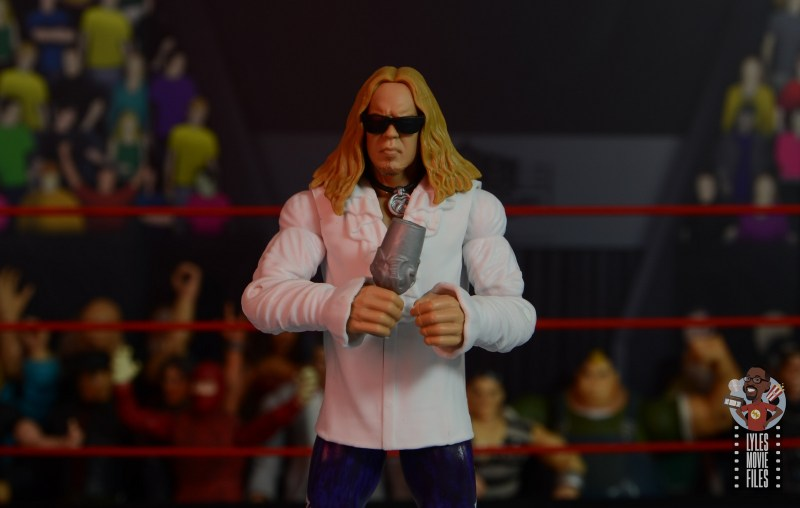 wwe elite brood christian figure review - with sunglasses and goblet
