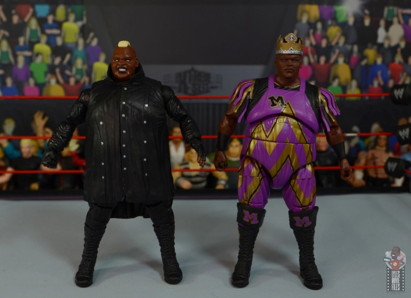 wwe elite series 77 viscera figure review - with king mabel