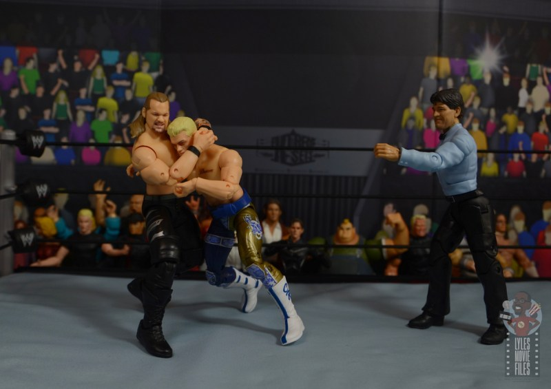 aew unrivaled chris jericho figure review - headlock to cody