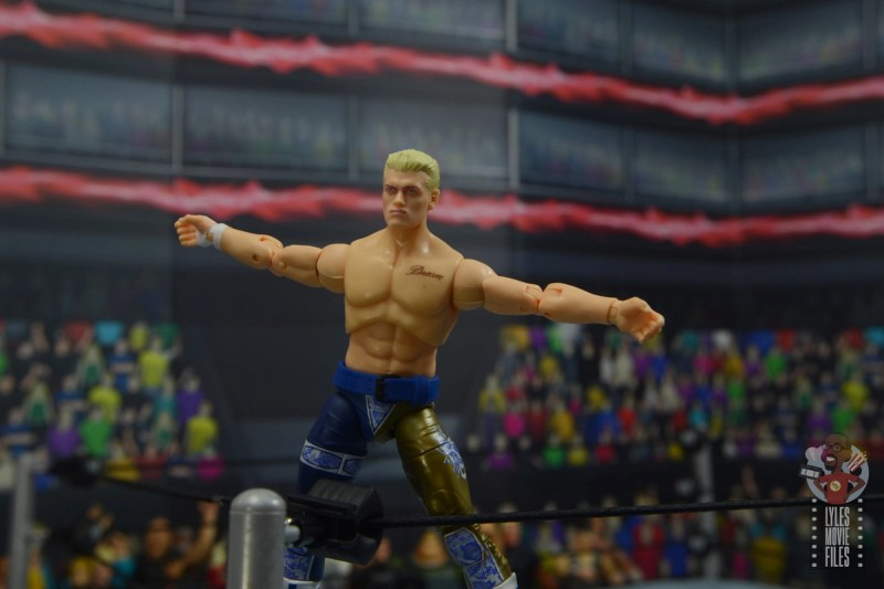 aew unrivaled cody figure review - main pic