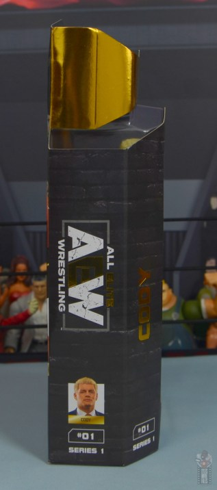 aew unrivaled cody figure review - package right side