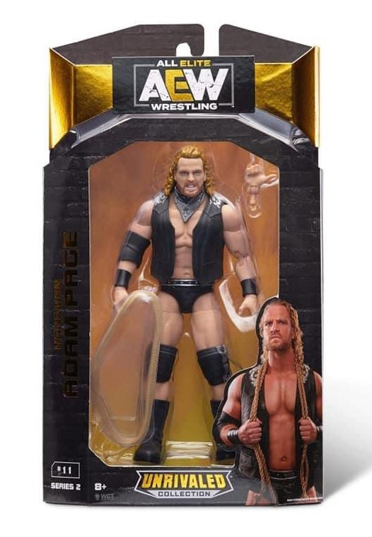 aew unrivaled wave 2 hangman page front package