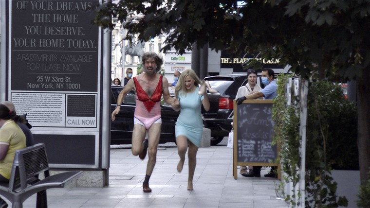 borat subsequent moviefilm review - borat and tutar on the run