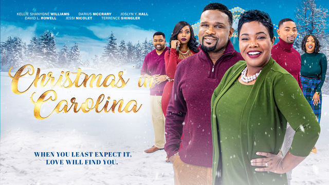 christmas in carolina poster