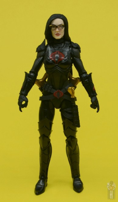 g.i. joe classified series baroness and cobra coil figure review - front