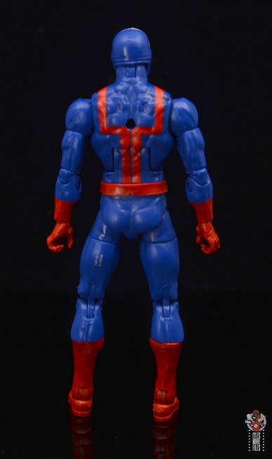 marvel legends hellfire club guard figure review - rear