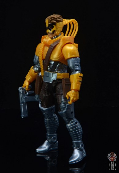 marvel legends maverick figure review - left side