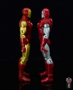 marvel legends silver centurion iron man figure review - facing 80th iron man