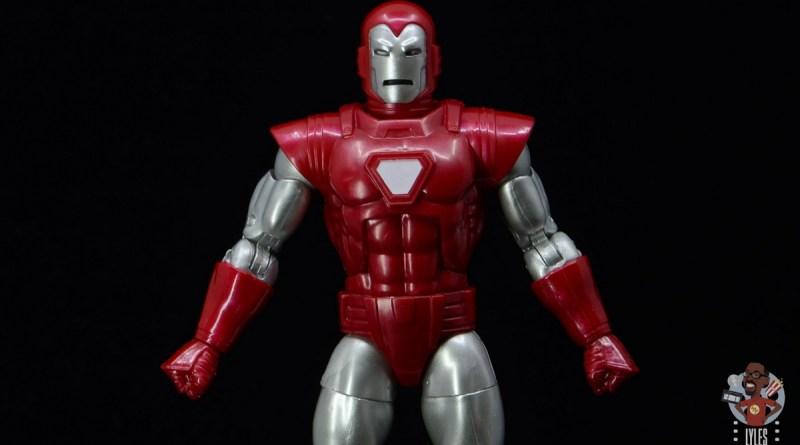 marvel legends silver centurion iron man figure review - main pic