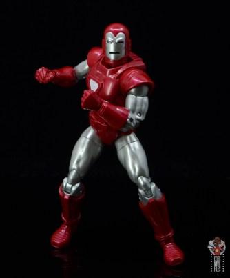 marvel legends silver centurion iron man figure review - pivoting
