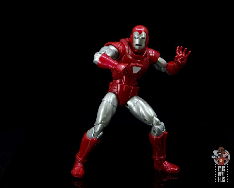 marvel legends silver centurion iron man figure review - ready for action