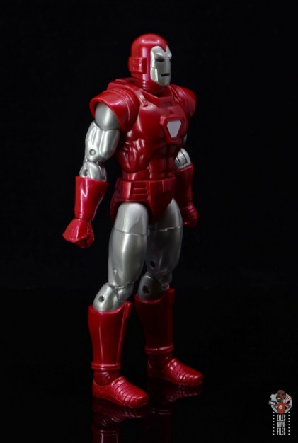 marvel legends silver centurion iron man figure review - right side