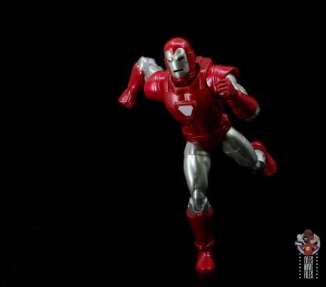marvel legends silver centurion iron man figure review - running