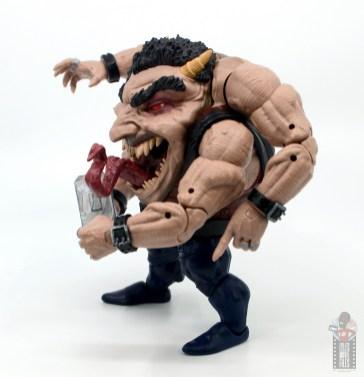 marvel legends sugar man build-a-figure review - left side