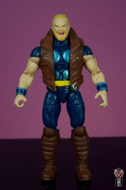 marvel legends thunderstrike figure review - front