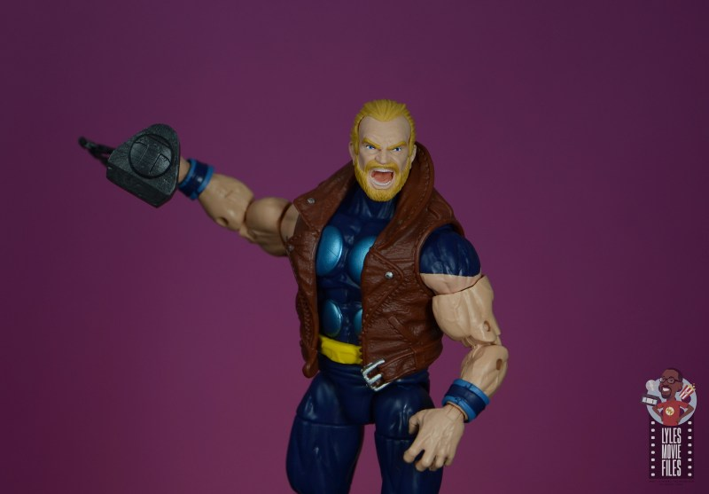 marvel legends thunderstrike figure review - recalling mace