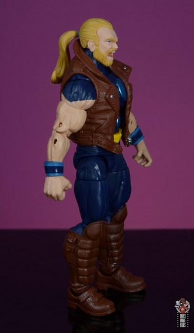 marvel legends thunderstrike figure review - right side
