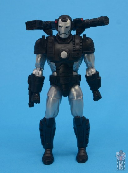 marvel legends war machine figure review - front