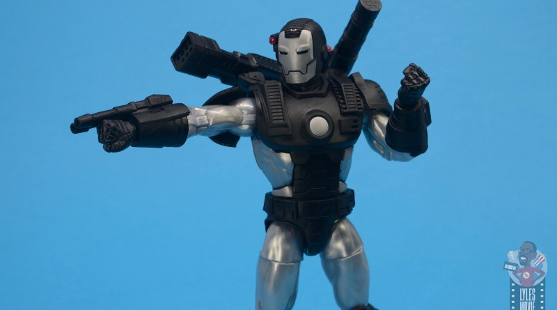 marvel legends war machine figure review - main pic