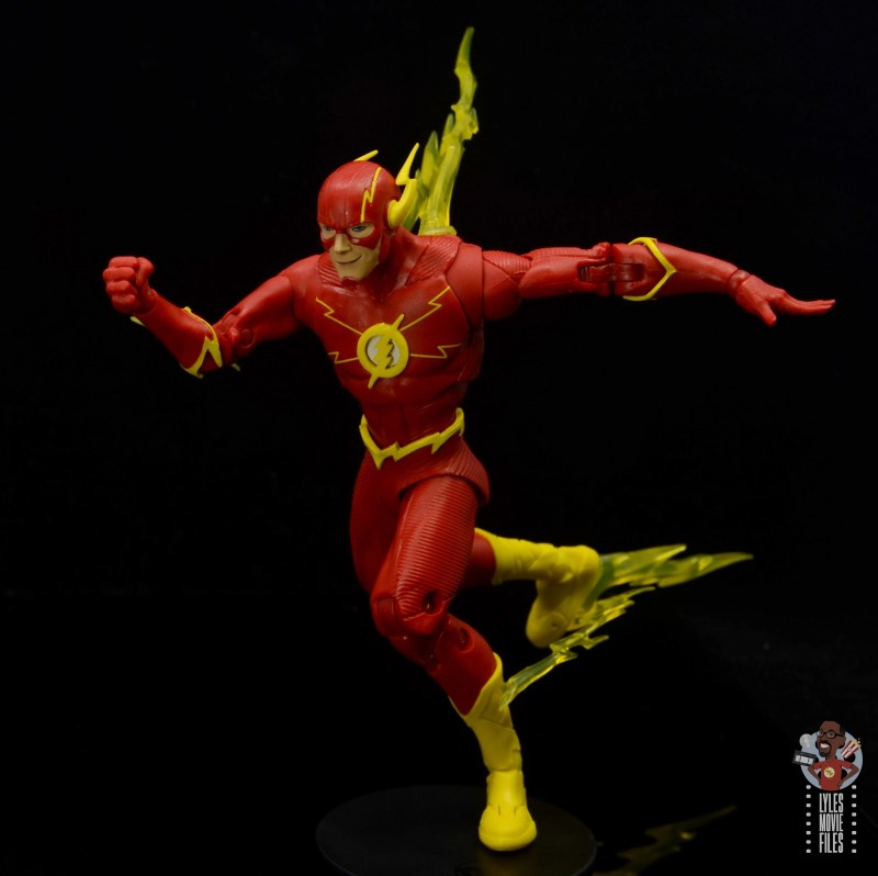 mcfarlane toys dc multiverse the flash figure review -always on the move