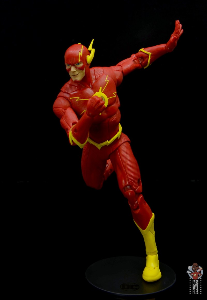 mcfarlane toys dc multiverse the flash figure review - on the run