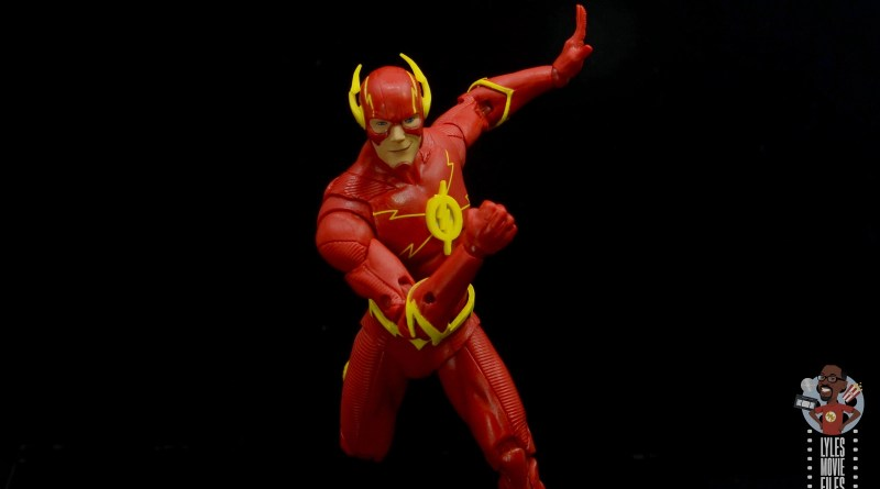mcfarlane toys dc multiverse the flash figure review -racing ahead