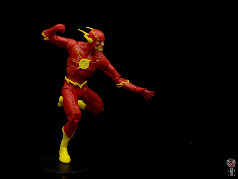 mcfarlane toys dc multiverse the flash figure review - running