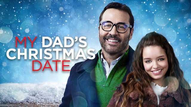 my dad's christmas date review - main poster