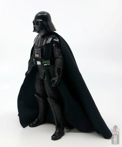 star wars the black series darth vader figure review - left side