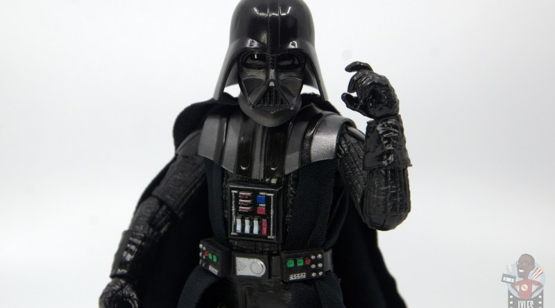 star wars the black series darth vader figure review -threatening