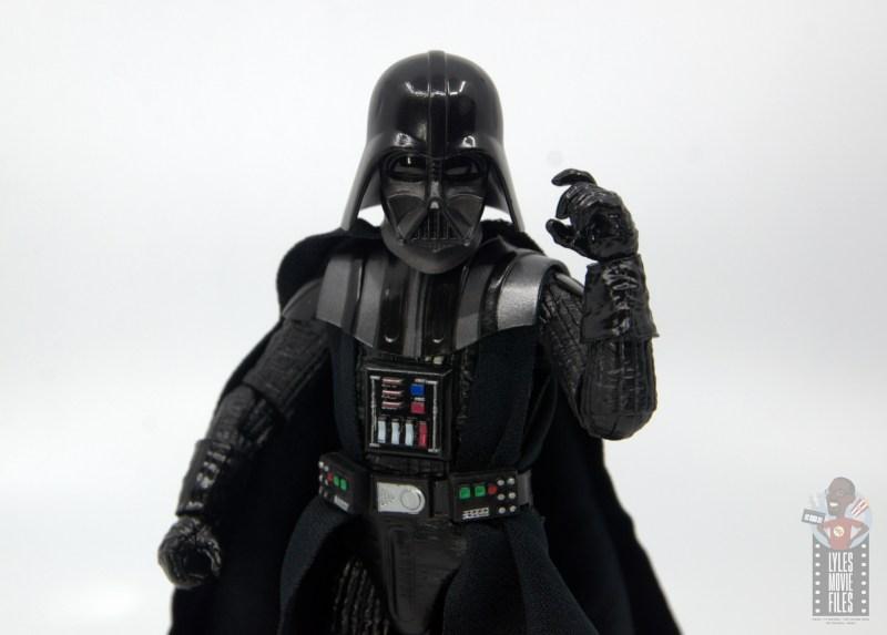 star wars the black series darth vader figure review -threatening