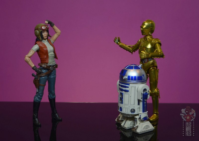 star wars the black series doctor aphra figure review -not the droids you're looking for