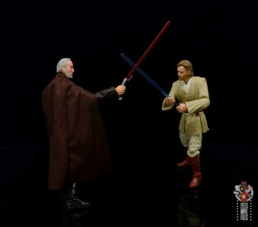 star wars the black series obi-wan kenobi figure review - clashing with count dooku