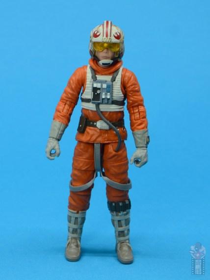 star wars the black series snowspeeder luke skywalker figure review -front