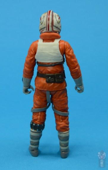 star wars the black series snowspeeder luke skywalker figure review - rear