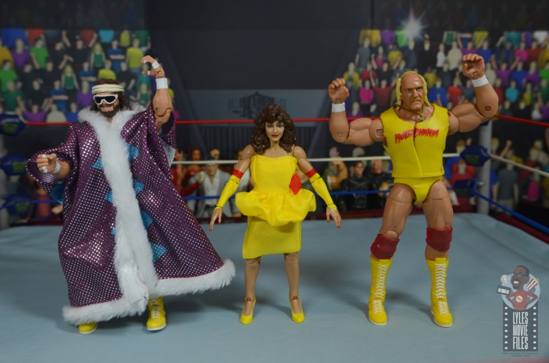 wwe elite series 77 miss elizabeth figure review - with megapowers