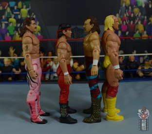 wwe legends 8 jake the snake roberts figure review -facing rick rude, ricky steamboat and hulk hogan